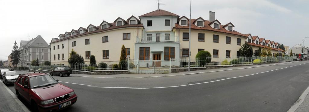 Panoramatický pohled z ul. Hřbitovní