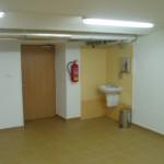 Prádelna po realizaci - provozní místnost