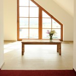 Interiér ubytovací části objektu