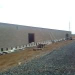 Ranč v průběhu výstavby