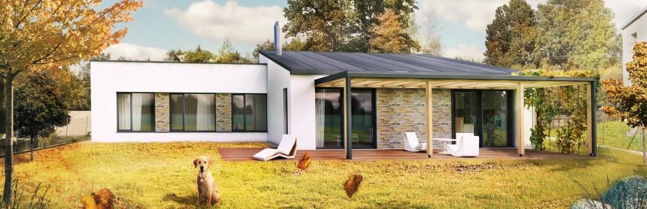 Novostavba rodinného domu v Ženklavě 1