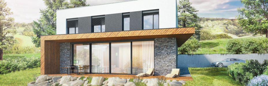 Novostavba rodinné vily na Novojíčínsku